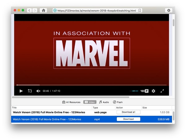 Opt 123 movies downloader for Mac