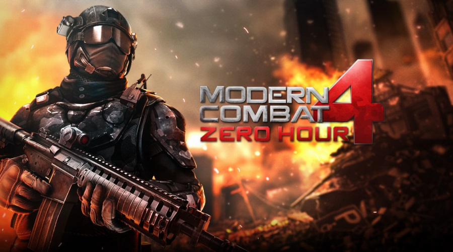 End Those Terrorists in Modern Combat 5 Mod Apk