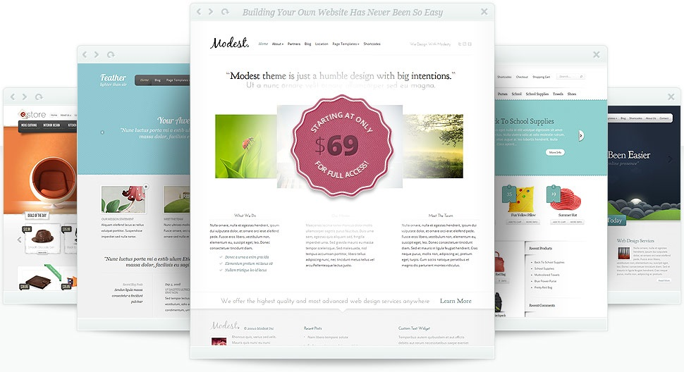 What To Consider In Choosing Your Website Template Design?